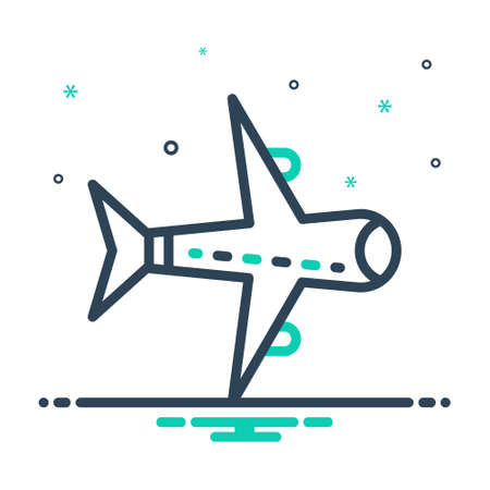 Icon for aircraft,travel