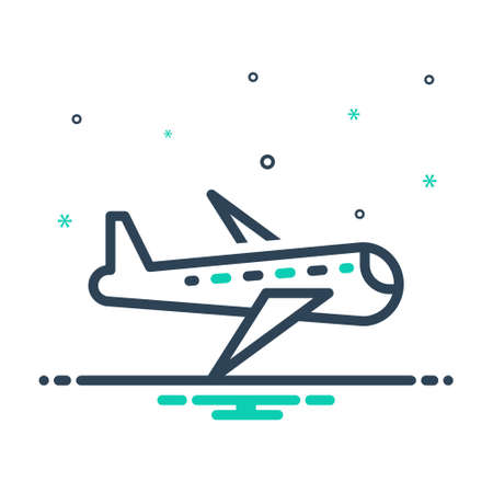 Icon for aircraft,plane