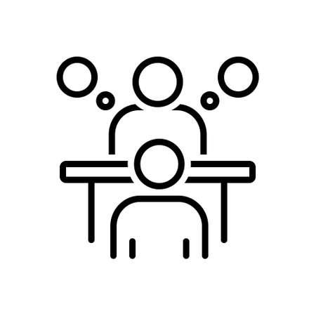 Icon for consultation,appointment Vektoros illusztráció