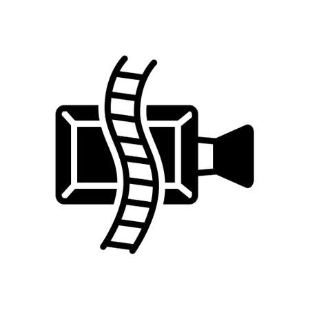 Icon for video player,broadcast
