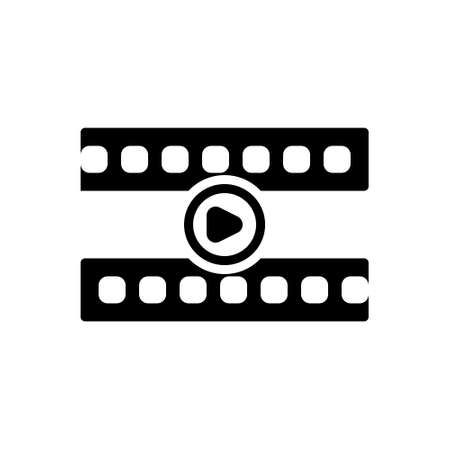 Icon for video player,broadcast Vetores