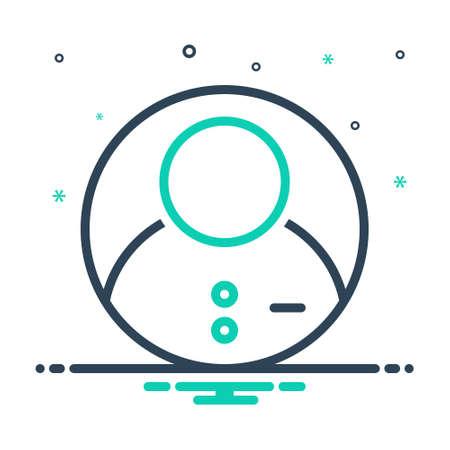 Icon for profile,resume,document