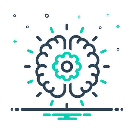 Icon for brainstorming,deliberate