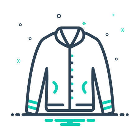 Icon for jacket,fabric