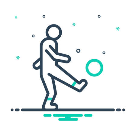 Icon for kick,thwack Çizim