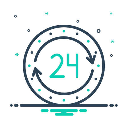 Icon for twenty for hours,agency