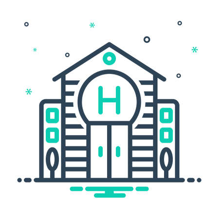 Icon for hotel,lodge