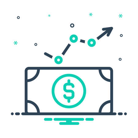 Icon for economic,financial