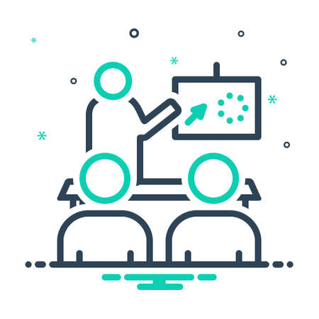 Icon for illustrate,exemplify