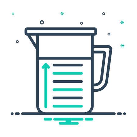 Icon for capacity,beaker
