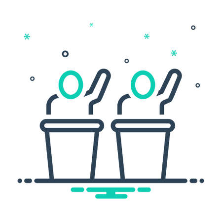 Icon for participation,support