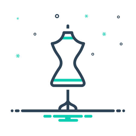 Icon for dress form,dress mannequin