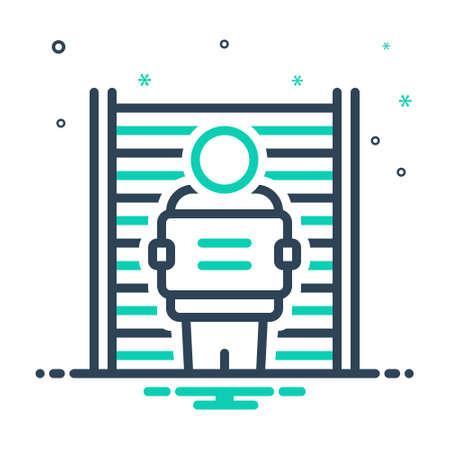 Icon for defendant,respondent Vecteurs