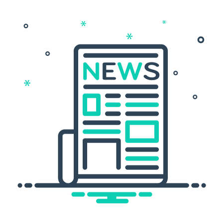 Icon for newspaper,tabloid