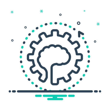 Icon for improvement,development