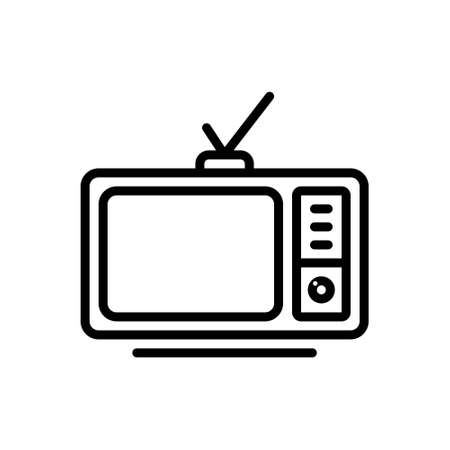 Icon for television,vintage