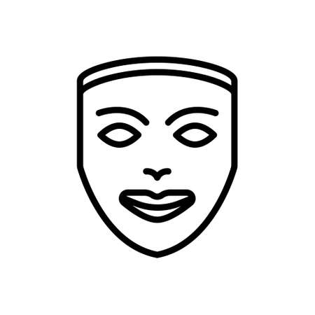 Icon for mask,camouflage