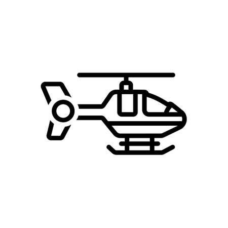 Icon for helicopter,aviation