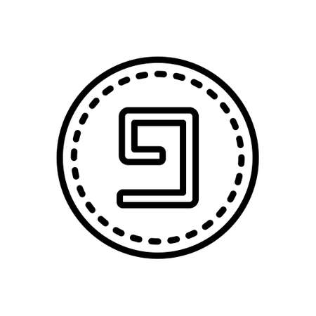Icon for nine, number