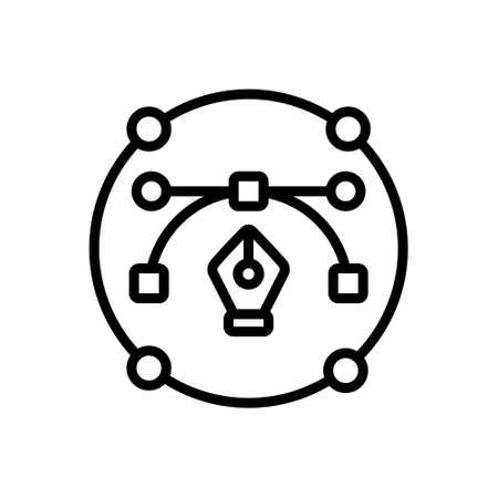 Icon for anchor point, tool