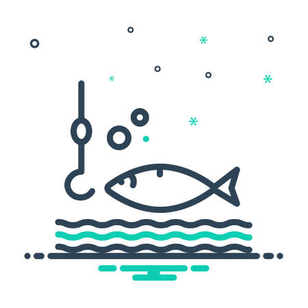 Icon for catch, fishing