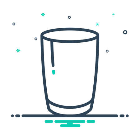 Icon for mug, drink 矢量图像