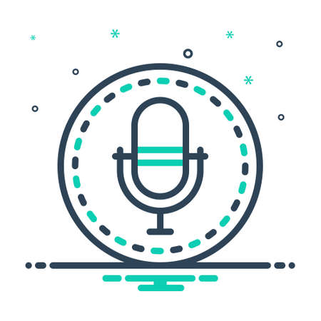 Icon for recording,audio