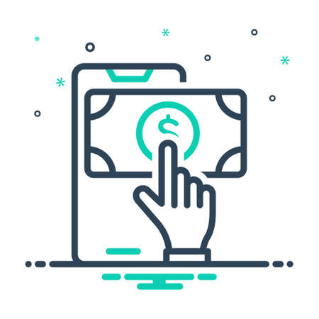 Icon for payment,transaction Çizim