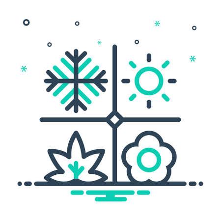 Icon for season,weather