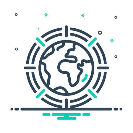 Icon for global,worldwide