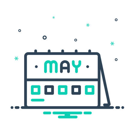 Icon for may,month