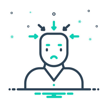 Icon for tension,stress