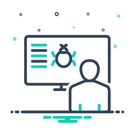 Icon for perception,bug