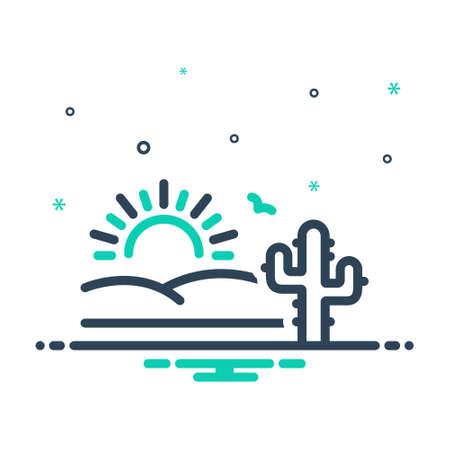 Icon for desert,sands,sandbar