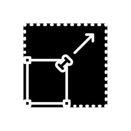 Icon for spread,expansion