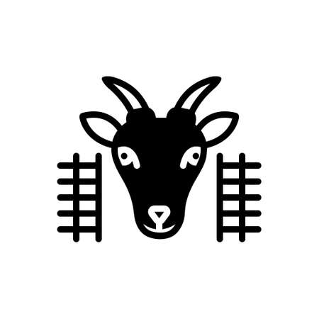 Icon for goat in pen,goat