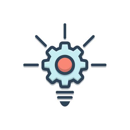 Illustration Inovation icon