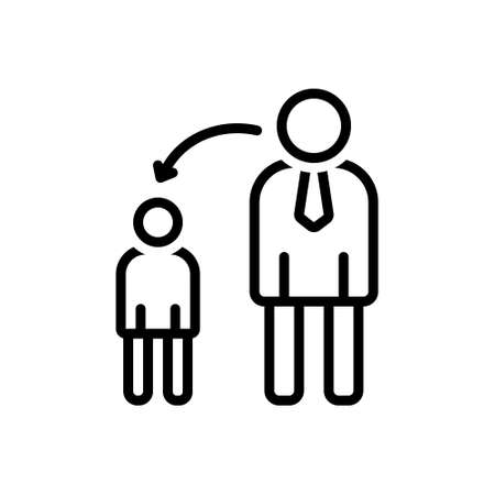 Illustration  Icon for grown up.