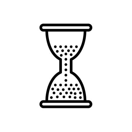 Icon for remain,hourglass