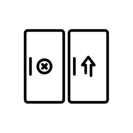 Icon for entrance,gateway