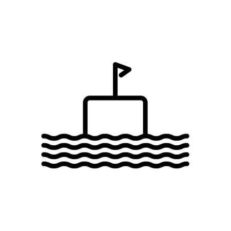 Icon for float,submarine