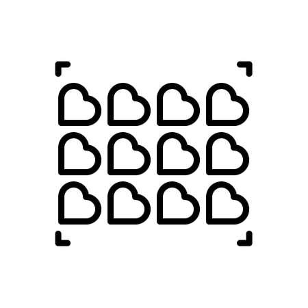 Icon for minority,social Stock Illustratie