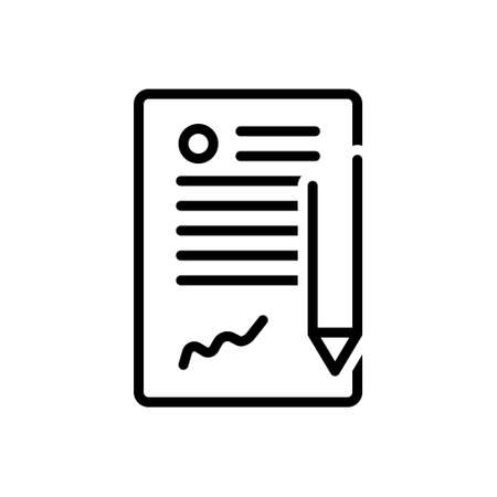 Icon for contract,long term contract