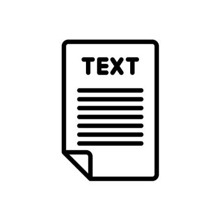 Icon for word,letter