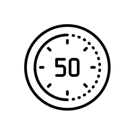 Icon for minute,clock