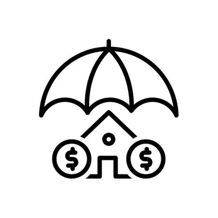 Icon for insurance,home insurance