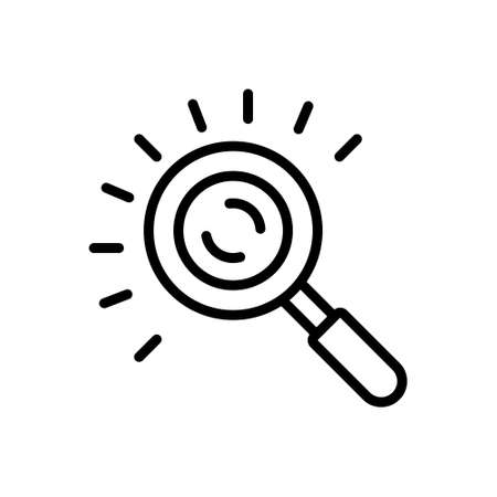 Icon for represent,search