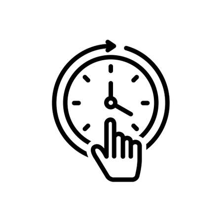 Icon for constant,consistent