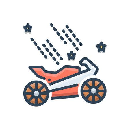 Icon for bike spa Ilustração