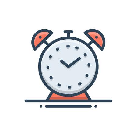 Icon for alarm clock